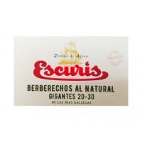Berberechos al Natural Gigantes 20/30 Piezas