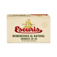 Berberechos al Natural 30-40 Piezas Escuris