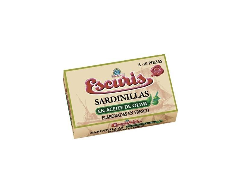 Sardinillas en Aceite de Oliva 8-10 piezas