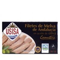 Filetes de Melva de Andalucía Canutera. Pack de 3 latas