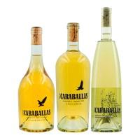 Pack Caraballas Verdejo + Chardonnay + Sauvignon