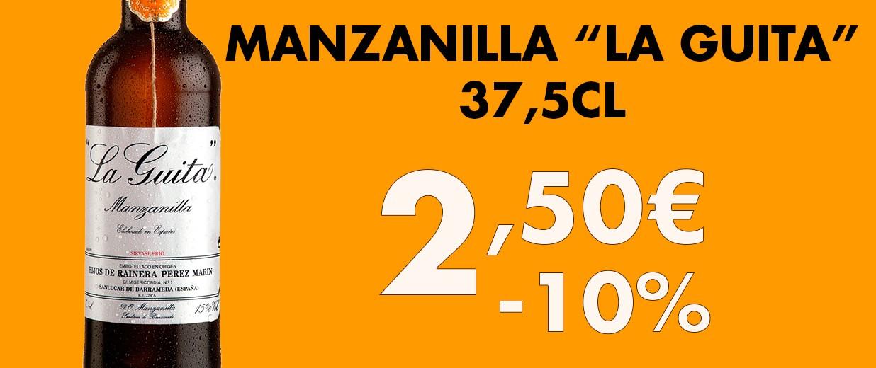 Manzanilla La Guita 37,5cl